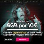 TUENTI lanza 6GB por 10€ 6 meses por el Blackfriday.