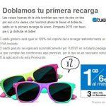 Tuenti regalará hasta el 20 de Enero de 2013 hasta 30€ con su 2×1 en recarga inicial solo a sus nuevos clientes.