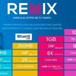 Tuenti Móvil Remix lanza bonos de datos semanales para prepago por 1 y 2 euros con 100MB y 250MB.