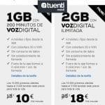 TUENTI prorroga los precios de sus tarifas de Voz Digital con datos unos días más.