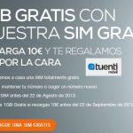 Consigue una SIM de TUENTI con 1GB el primer mes por 10€.