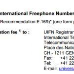 Los números universales para empresas 00800.