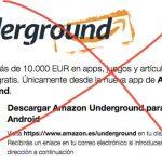 Amazon cierra Underground, la plataforma de aplicaciones gratis