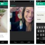 El periodismo del futuro mediante el móvil: VINE ya disponible para Android. Qik también interesante.