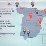 Vodafone anuncia su red 4G+ (LTE Advanced).
