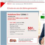 VODAFONE lanza ONE TOTAL desde 112€/mes.