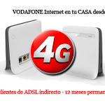 Vodafone decide competir con ORANGE y MOVISTAR en 4G en casa.