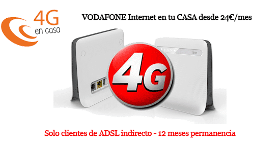 vodafone compite 4g en casa con movistar y orange