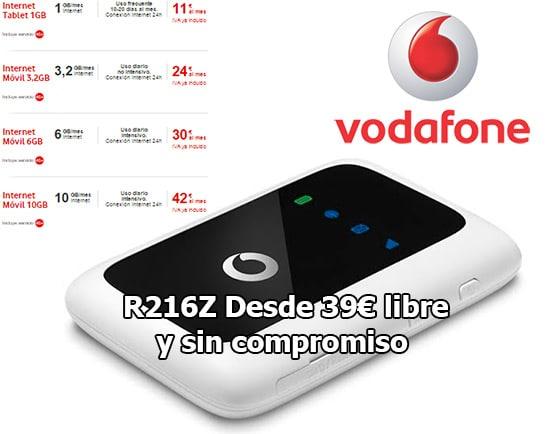Vodafone nos acerca m s al 4g con su modem wifi libre desde 39 portal movil by navenetworks s l - Contratar solo internet en casa ...