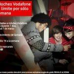 Una promoción puntual de Vodafone: 1€/semana ilimitadas a Vodafone en prepago de 21 a 24 durante 7 días.