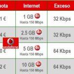 VODAFONE mejora sus tarifas de Internet con 4G para modem/tablet. 5GB por 30€.