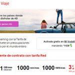 VODAFONE lanza 4G Roaming a 60 países con coste. (3€/día en planes RED).