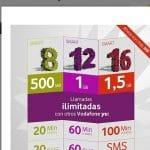 Vodafone mejora sus tarifas Yu prepago ofreciendo SMS y MMS ilimitados entre Yu.