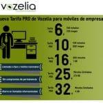 Vozelia lanza sus nuevas tarifas para empresas.