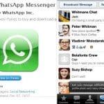 WhatsAPP para Iphone GRATIS temporalmente. ¿Estarán preocupados por LINE?