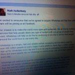 Facebook compra WhatsAPP: Estudiamos las consecuencias.