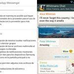 WhatsAPP se actualiza: Ahora podremos cambiar la fuente y además saber si ha sido leído en los grupos.