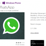 WhatsAPP deja de estar disponible para Windows Phone. ¿Definitivamente?