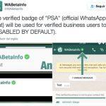 WHATSAPP lanzará perfiles verificados: Mayor seguridad.