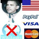 El gobierno americano controla el mundo entero siendo los dueños de las mayores marcas financieras del mundo: Mastercard y Visa. Un juzgado de Islandia considera ilegal el bloqueo por VISA de Wikileaks.