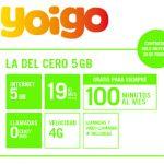 YOIGO ofrece 100 minutos en su tarifa de 19€ solo a nuevos clientes.