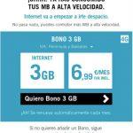 El bono oculto de YOIGO al superar bono: 3GB por 6,9€