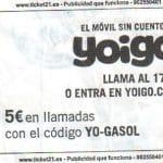SIMYO vs YOIGO: Consigue 5 € mas de saldo usando el codigo del Carrefour!