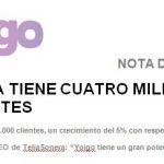 Yoigo declara sus intenciones de futuro en el MWC2014. Leasing de móviles una de sus novedades.