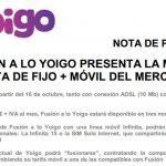 Yoigo lanza su Fusion desde 34€/mes sin mejorar la oferta de Orange y sin SMS ni TV. ¿Suficiente?