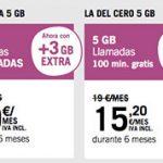 MASMOVIL y YOIGO apuestan por ofrecer hasta 50GB para captar clientes.