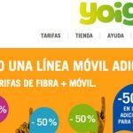 YOIGO hace más atractiva la convergencia: 50% lineas adicionales.