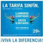 YOIGO justifica terminar con la SINFIN con tarifas más adaptadas al consumo.