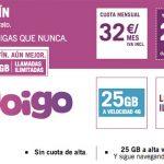 YOIGO lanza su nueva SINFIN con 25GB por 32€ al mes.