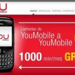Youmobile ofrece llamadas Gratis entre los clientes con una tarifa de 6c/min.