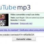 Youtube ataca a una web que permite descargar mp3 de sus videos cuando es legal según jueces alemanes.