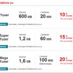 Las tarifas de Vodafone YU permiten acumular lo no consumido ahora con un limite.