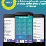 ZeroAPP la primera aplicación que permite hablar hasta 8 minutos al día sin coste sin utilizar datos.