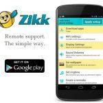 ZikkApp una APP indispensable para Android para ayudar a los menos expertos a configurar su terminal.
